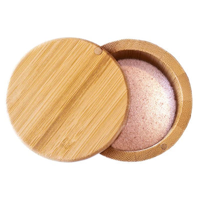Bamboo Wood Salt Cellar with Magnetic Lid