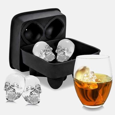 Skull Ice Maker Mold