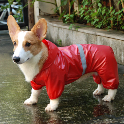 Dog Jacket Raincoat Reflective & Waterproof