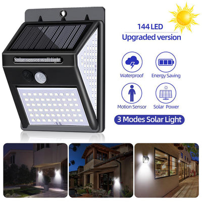 Solar Motion Sensor Security Lights