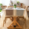 Square Tablecloth Waterproof Linen