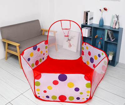 Ball Pool Playpen with Basket