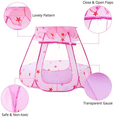 Pop Up Play Tent For Kids