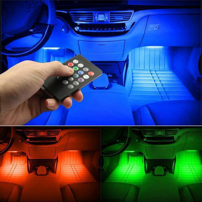 Ambient Car Interior Foot Light