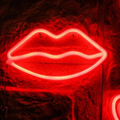 Decorative Lip Night Light