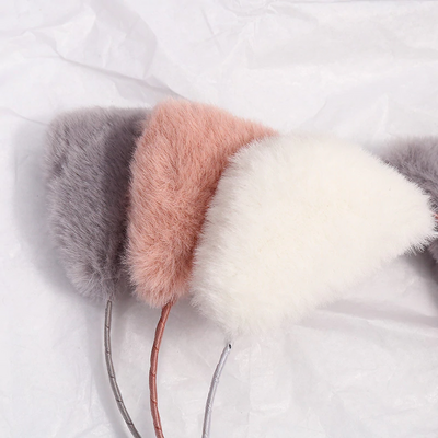 Cute Plush Cat Ear Hair Band