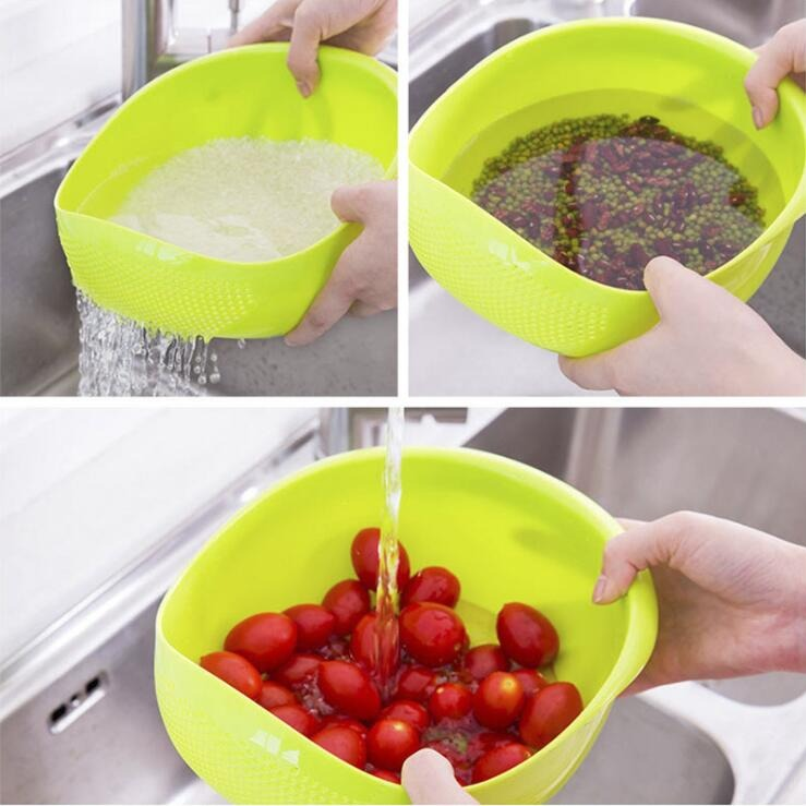 Rice and Beans Sieve Filter Strainer Basket