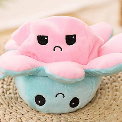 Cute Reversible Octopus Plushie Toy