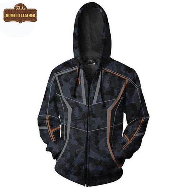 M035 Avengers Infinity War Tony Stark RDJ Casual Fashion Hoodie Cotton Jacket - Home of Leather