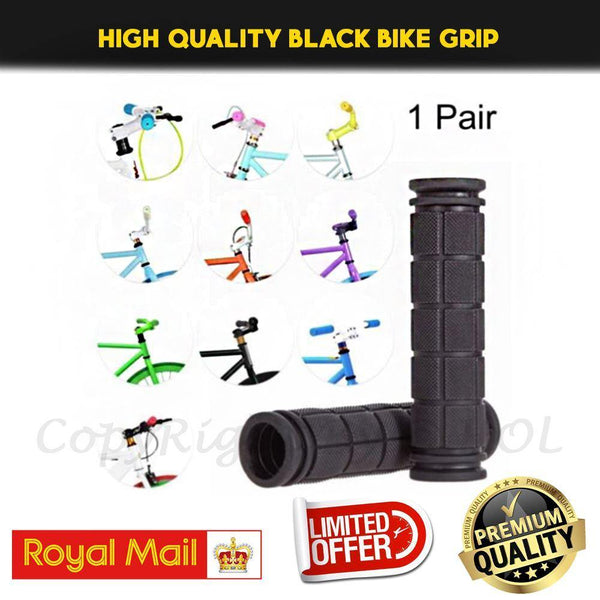 Soft Bike Handle bar Grips Hand Grip MTB BMX Cycle Road Mountain Bicycle Scooter Bike handle Grip - Home of Leather