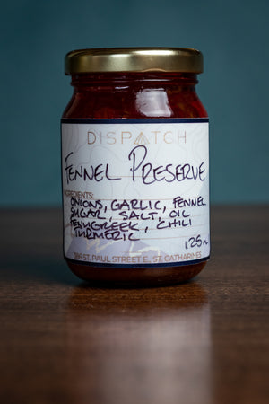 Dispatch Fennel Onion Garlic Preserve