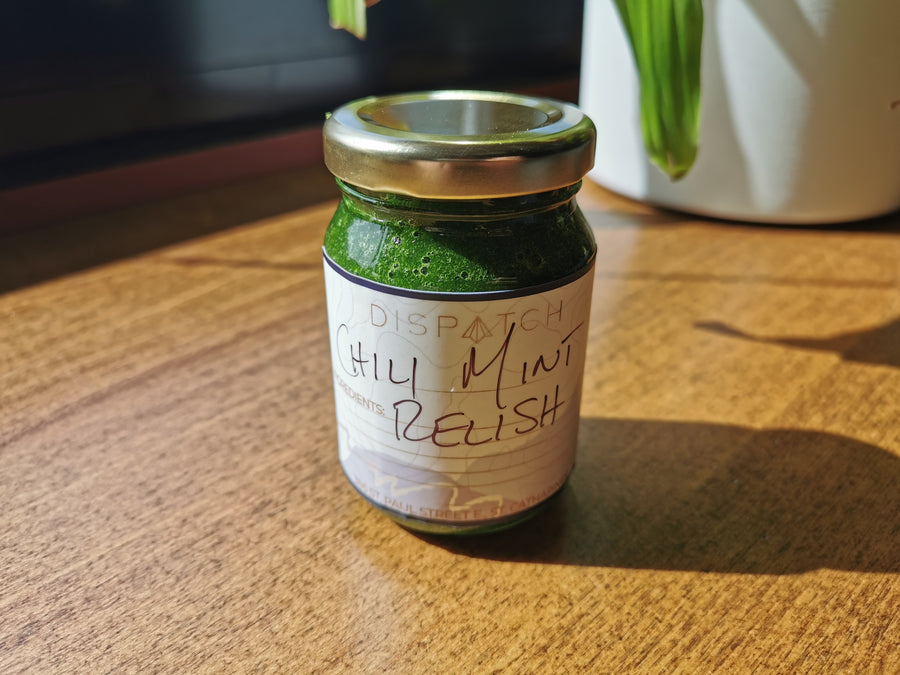 Chili Mint Relish