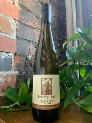 2016 Leaning Post The Geek Riesling