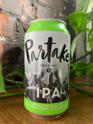 Partake Brewery IPA (Non-Alcoholic)
