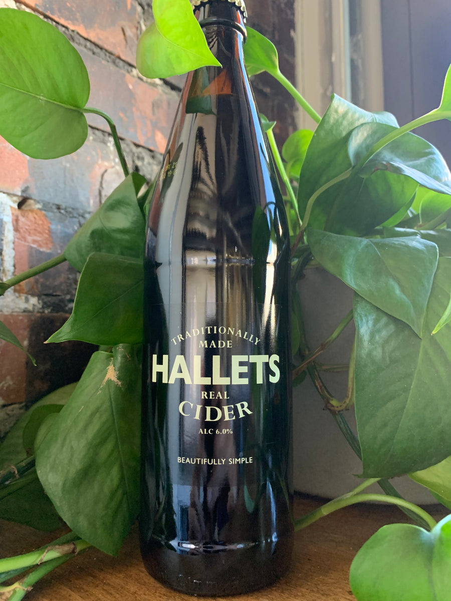 Hallets Real Cider