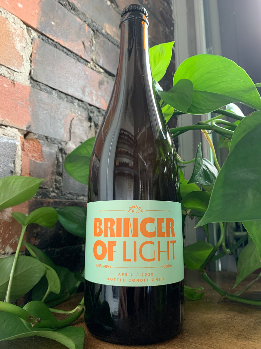 "Sonnen Hill, ""Bringer of Light"" Apricot Beer"