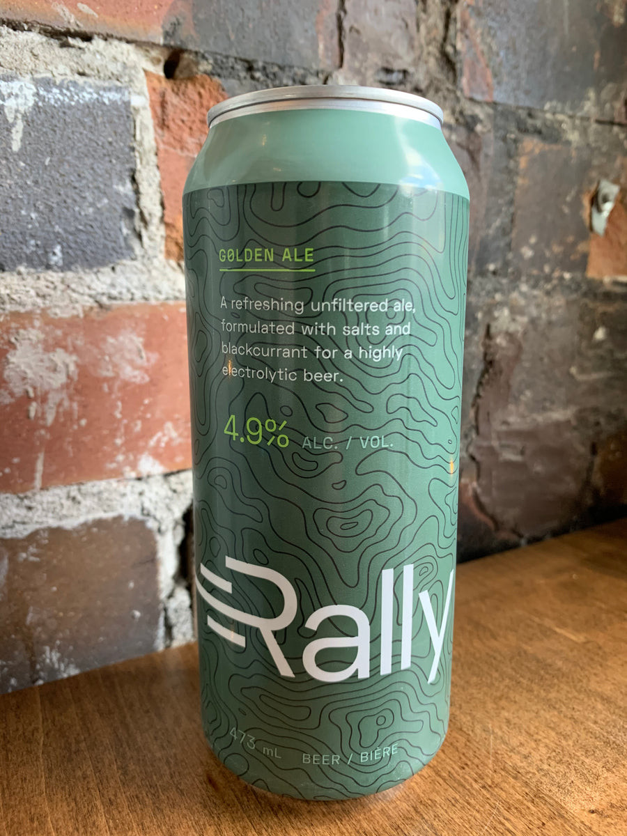Rally Beer Golden Ale