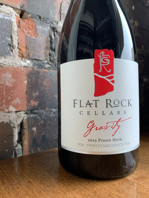 2012 Flat Rock Cellars Gravity Pinot Noir