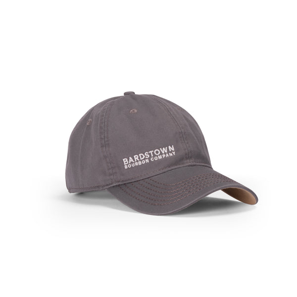 Leather Strap Ball Cap - Gray