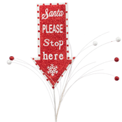 Santa Stop Here Spray 30L