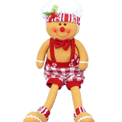Gingerbread Man Sitting 20