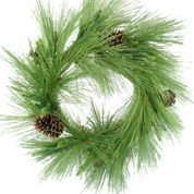 Long Needle Pine Wreath DIA24