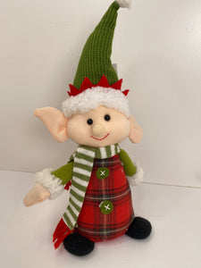 Elf Sitting Plush