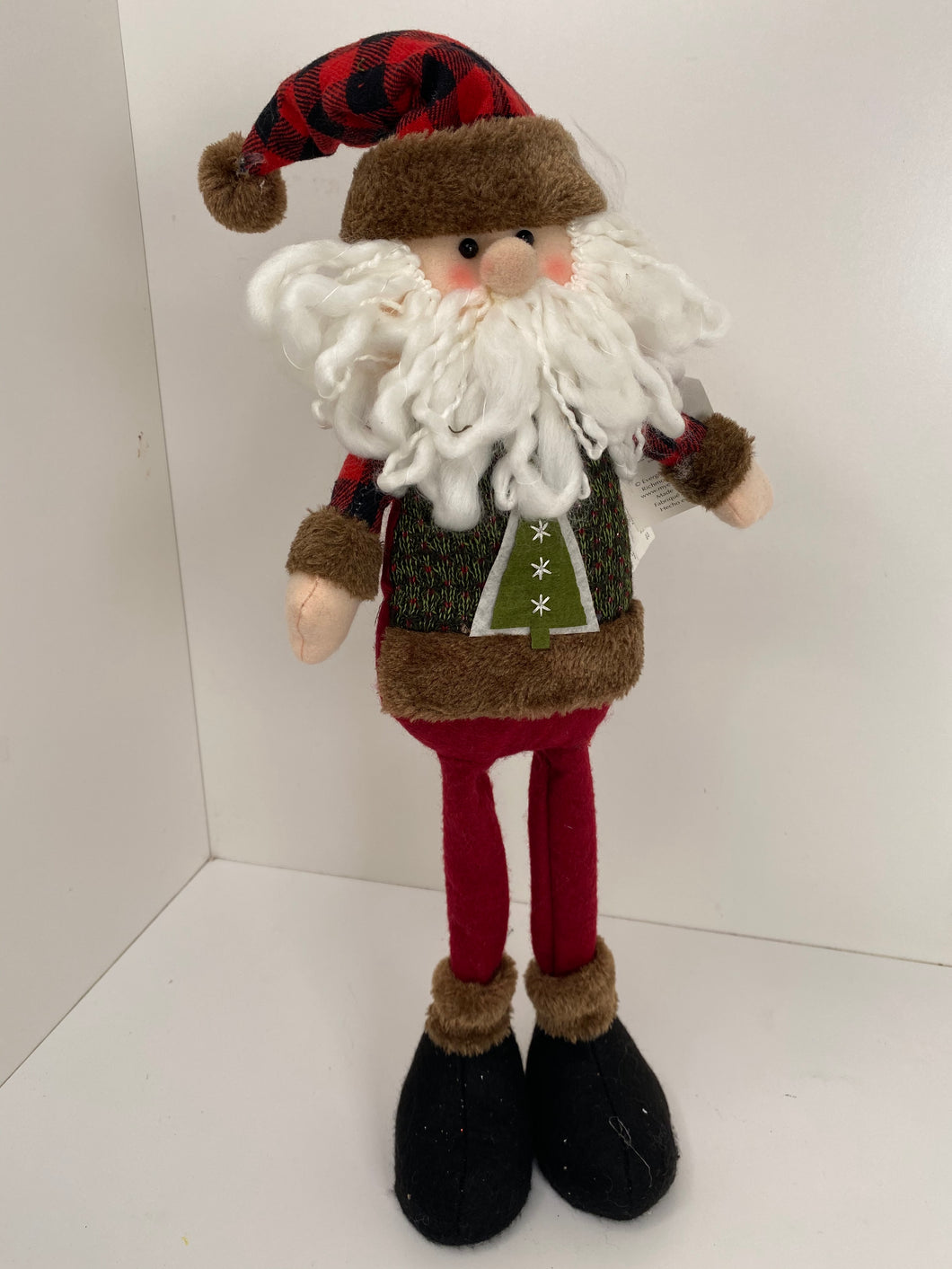 Standing Santa tabletop Decor