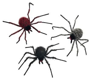 "22"" Hairy Spiders"