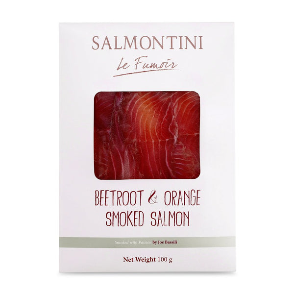Beetroot & Orange Smoked Salmon
