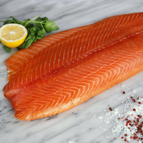 Fresh Salmon Fillet Lightly Smoked
