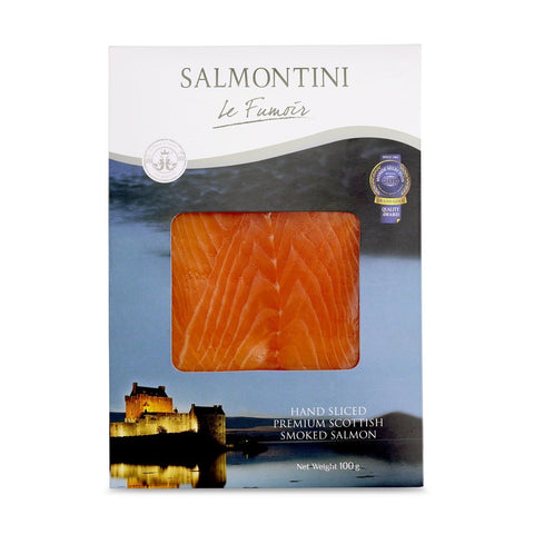 Hand-Sliced Scottish Smoked Salmon D-CUT