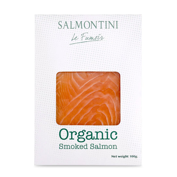 Organic Norwegian Oak Smoked Salmon