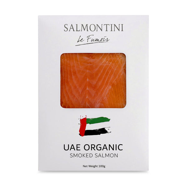 Organic UAE Oak Smoked Salmon