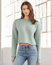 Load image into Gallery viewer, cropped sweatshirt