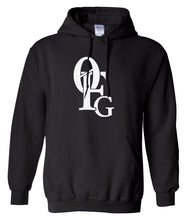 Load image into Gallery viewer, black 0fg pullover hoodie
