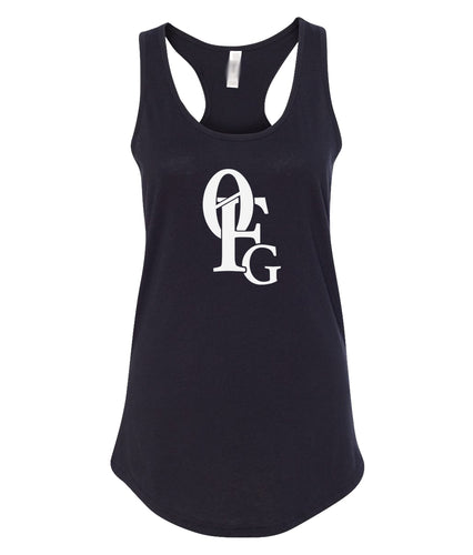 black 0FG women's tank top