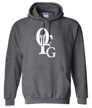 Load image into Gallery viewer, charcoal 0fg pullover hoodie