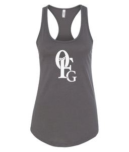 dark grey 0FG women's tank top