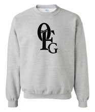Load image into Gallery viewer, grey 0FG crewneck sweatshirt