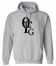 Load image into Gallery viewer, grey 0fg pullover hoodie