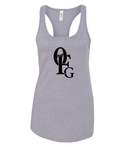 grey 0FG women's tank top
