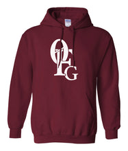 Load image into Gallery viewer, maroon 0fg pullover hoodie