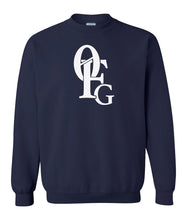 Load image into Gallery viewer, navy 0FG crewneck sweatshirt