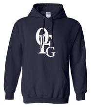 Load image into Gallery viewer, navy 0fg pullover hoodie