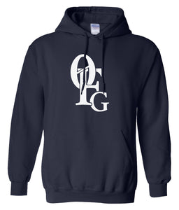 navy 0fg pullover hoodie