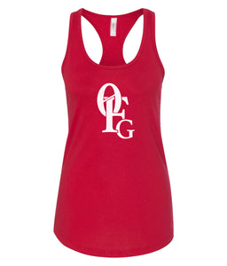 red 0FG women's tank top