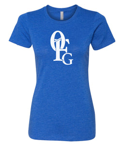 royal 0FG crewneck women's t shirt