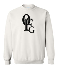 Load image into Gallery viewer, white 0FG crewneck sweatshirt