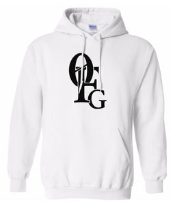 white 0fg pullover hoodie
